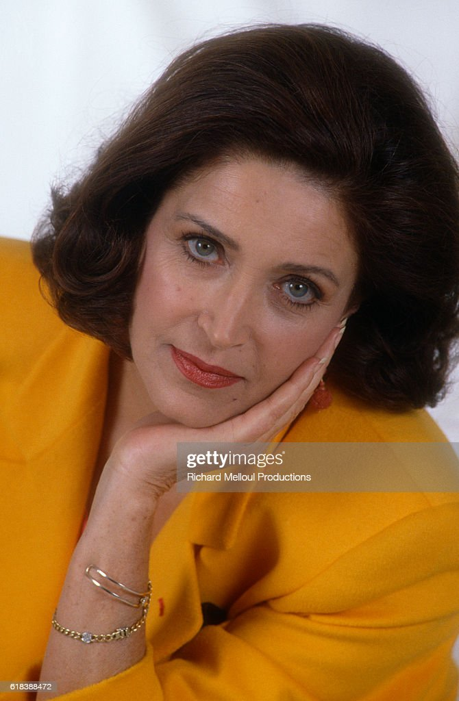 French Actress Francoise Fabian : Photo d'actualité
