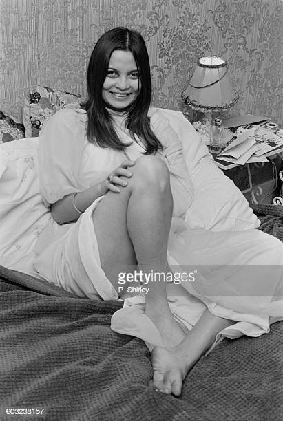 French actress Françoise Pascal UK 6th February 1971