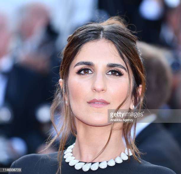 French actress Geraldine Nakache arrives for the Closing Awards Ceremony of the 72nd annual Cannes Film Festival in Cannes France on May 25 2019