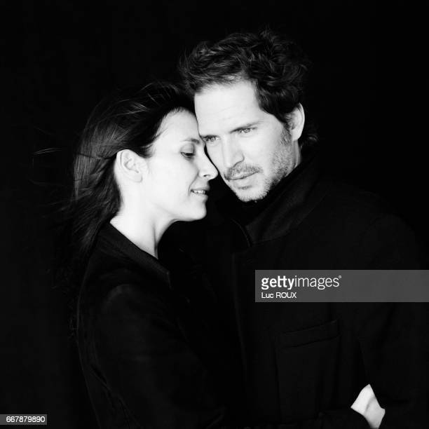 French actress Geraldine Pailhas and French screenwriter and author Christopher Thompson