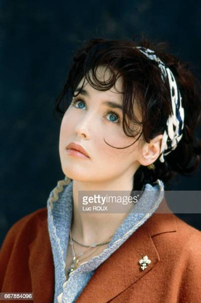 French actress Isabelle Adjani during make-up and a photo shoot for the release of the film Toxic Affair, directed by Philomene Esposito, for the...