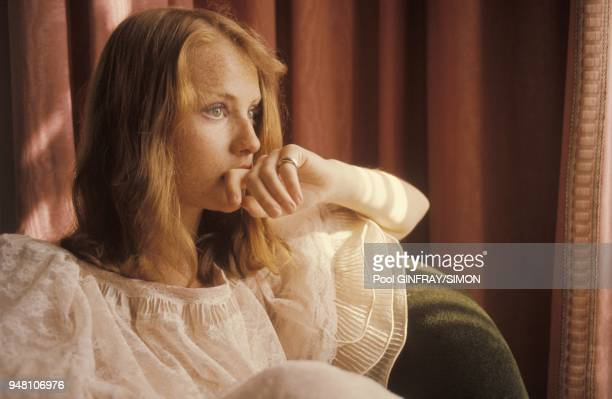 French actress Isabelle Huppert at Cannes Film Festival