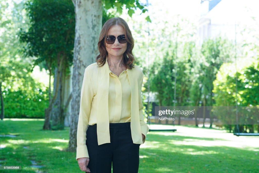 Isabelle Huppert In Madrid