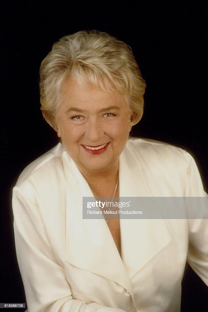 French Actress Jacqueline Maillan : Photo d'actualité