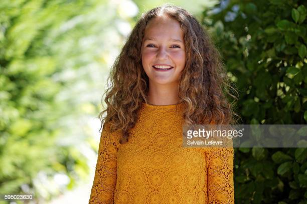 French actress Jeanne Jestin attends 9th Angouleme French-Speaking Film Festival on August 24, 2016 in Angouleme, France.