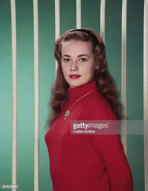 French Actress Jeanne Moreau circa 1955