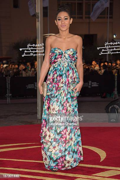 French actress Josephine Jobert arrives for the tribute to Hindi cinema at the 12th Marrakech International Film Festival Marrakech International...