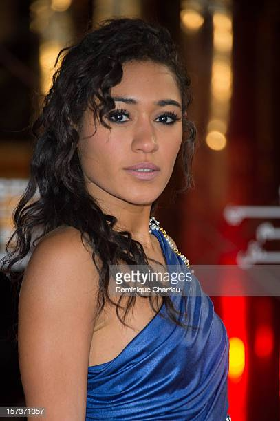 French Actress Josephine Jobert arrives to the Tribute To Chinese Director Zhang Yimou during the 12th International Marrakech Film Festival on...