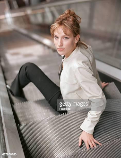 French actress Julie Debazac.