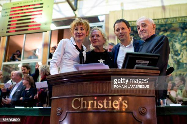 French actress Julie Depardieu French fashion designer Agnes Trouble from Agnes b French radio and TV host MarcOlivier Fogiel and French singer...