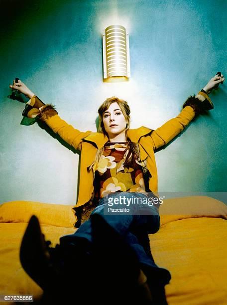 French actress Julie Depardieu.