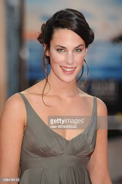 French actress Julie Fournier arrives to attend the premiere for 'Recount' during the 34th US Film Festival in Deauville France on September 07th 2008