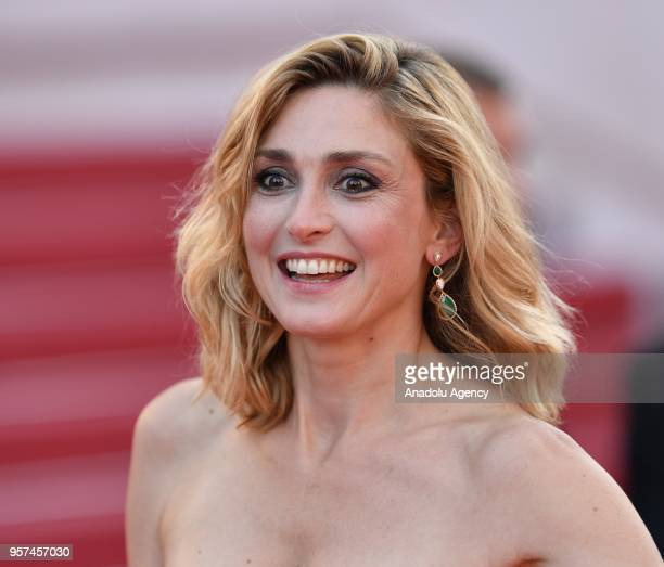 French actress Julie Gayet arrives for the screening of the film 'Ash Is Purest White' in competition at the 71st Cannes Film Festival in Cannes...