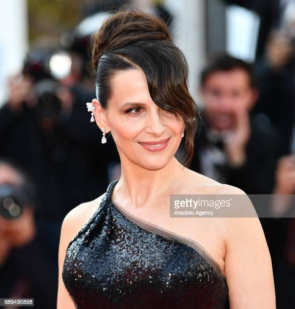 French actress Juliette Binoche arrives for the Closing Awards Ceremony of the 70th annual Cannes Film Festival in Cannes France on May 28 2017