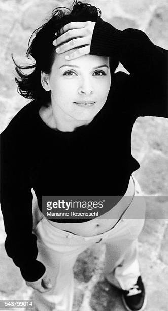French actress Juliette Binoche