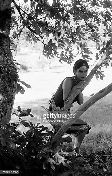 French Actress Juliette Mayniel in France circa 1960