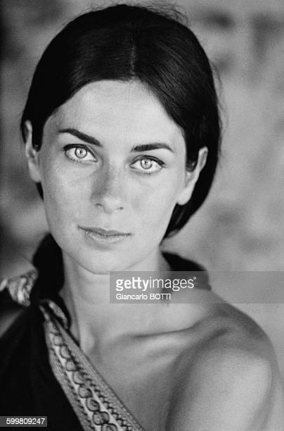French Actress Juliette Mayniel in Paris France circa 1960