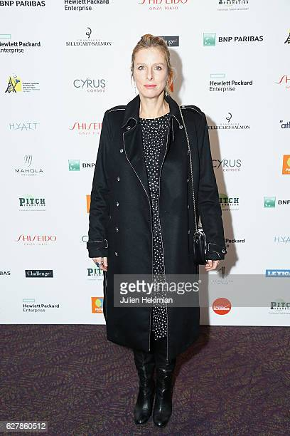 French actress Karin Viard Laureate of the prize of the woman of influence Coup de Coeur attends the 'Prix De La Femme D'Influence De L'Annee' Award...