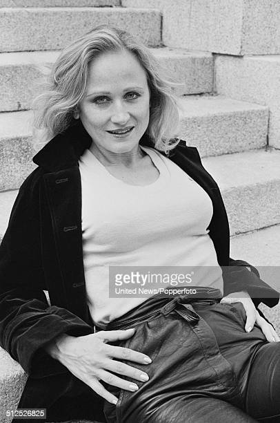 French actress Katia Tchenko in London on 29th July 1984