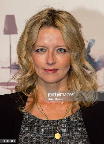 French actress Laure Marsac attends the opening ceremony in La Coursive Theater at La Rochelle Fiction Television Festival on September 12 2012 in La...