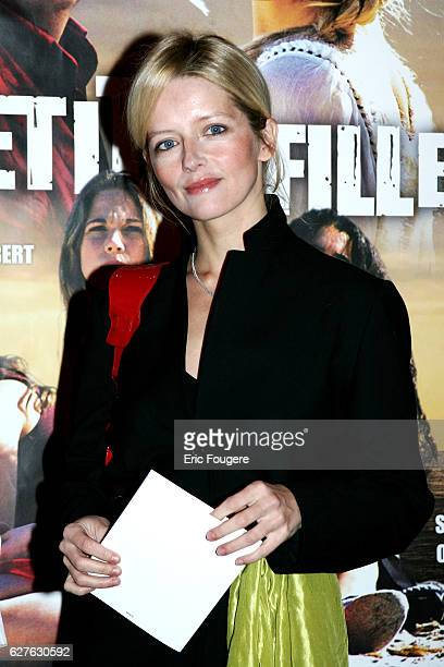 French actress Laure Marsac attends the premiere of JeanLoup Hubert's movie Trois Petites Filles in Paris