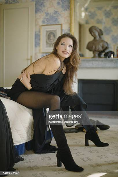 French actress Laurence Treil