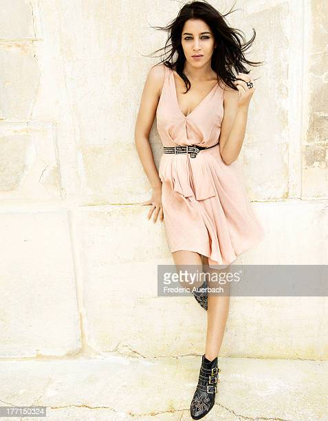 French actress Leila Bekhti is photographed for ELLE France on July 10 2013 in Paris France PUBLISHED IMAGE
