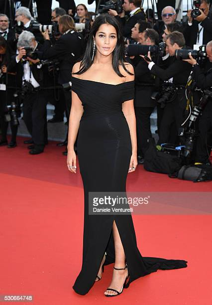 French actress Le��la Bekhti attends the Cafe Society premiere and the Opening Night Gala during the 69th annual Cannes Film Festival at the Palais...