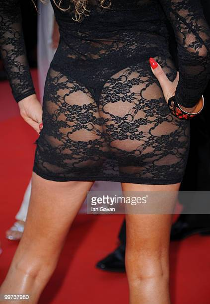 French actress 'Leslie' Afida Turner attends Biutiful Premiere at the Palais des Festivals during the 63rd Annual Cannes Film Festival on May 17 2010...