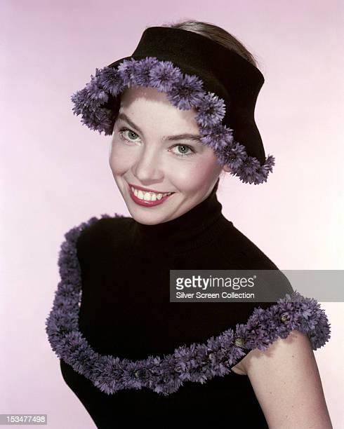 French actress Leslie Caron, circa 1955.