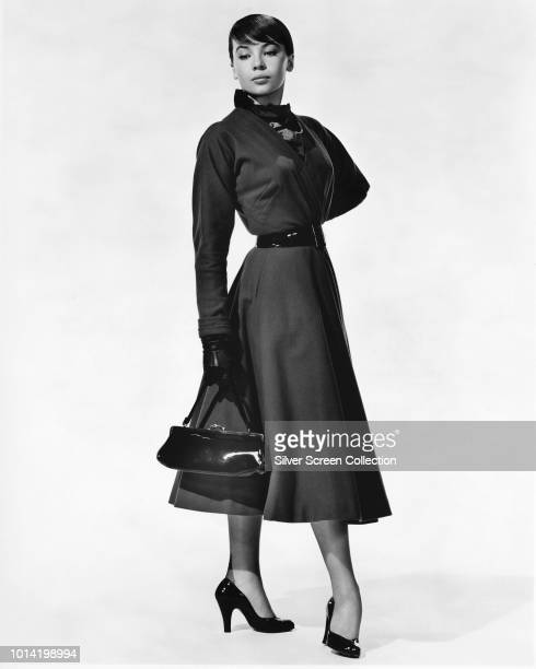 French actress Leslie Caron, circa 1960.