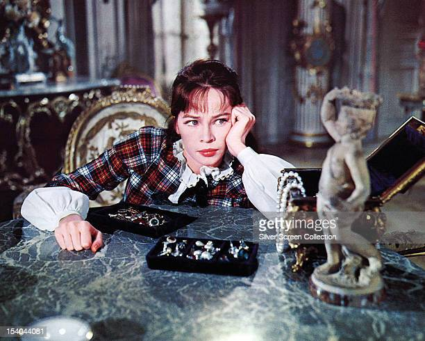 French actress Leslie Caron in the title role of 'Gigi' directed by Vincente Minnelli 1958