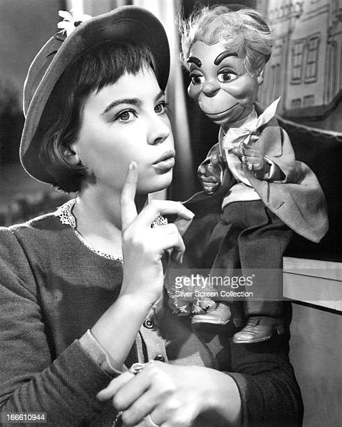 French actress Leslie Caron in the title role of 'Gigi', directed by Vincente Minnelli, 1958.