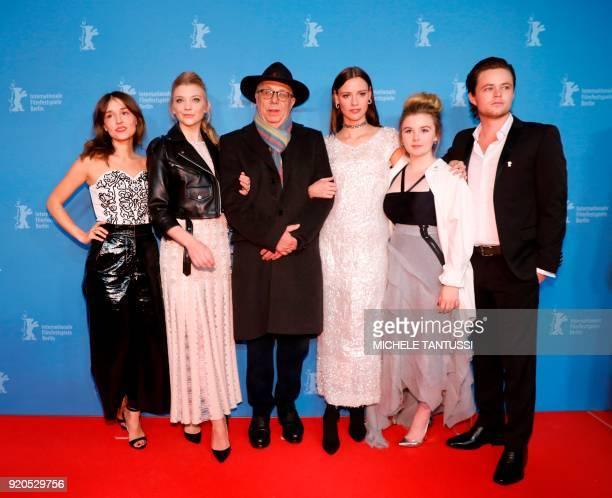 French actress Lola Bessis British actress Natalie Dormer Berlinale chief Dieter Kosslick Australian actress Lily Sullivan Australian actress Ruby...