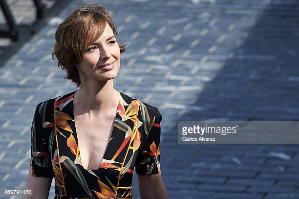 French actress Louise Bourgoin attends the Les Chevaliers Blancs photocall at the Kursaal Palace during the 63rd San Sebastian International Film...