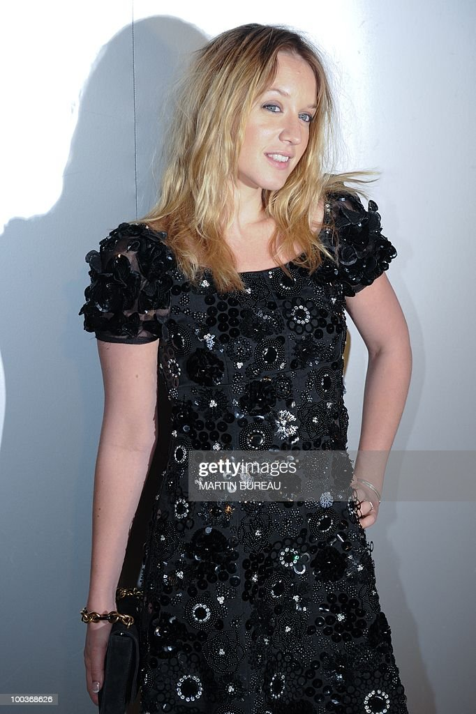 French actress Ludivine Sagnier arrives to attend the Figaro Madame/Chanel dinner during the 63rd Cannes Film Festival on May 18, 2010 in Cannes.