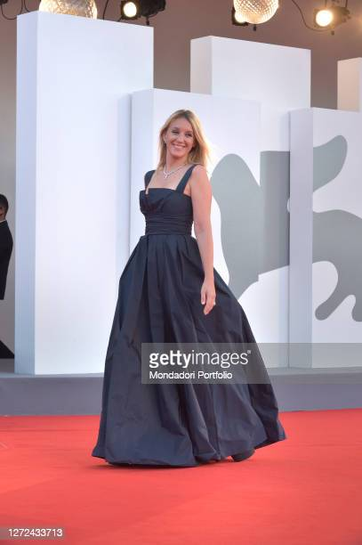 French actress Ludivine Sagnier at the 77 Venice International Film Festival 2020 Closing ceremony red carpet Venice September 12th 2020