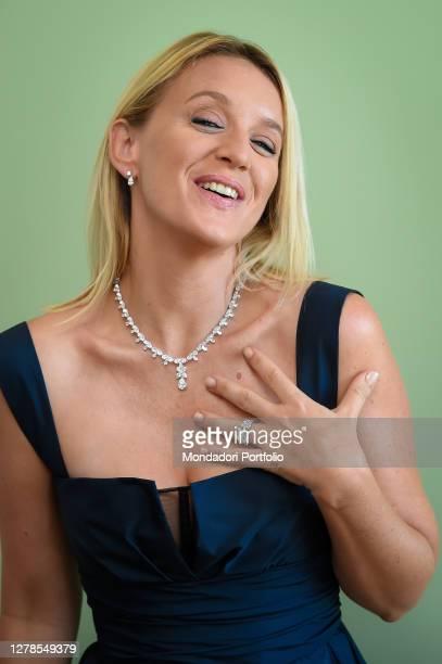 French actress Ludivine Sagnier at the 77 Venice International Film Festival 2020 Venice September 12th 2020
