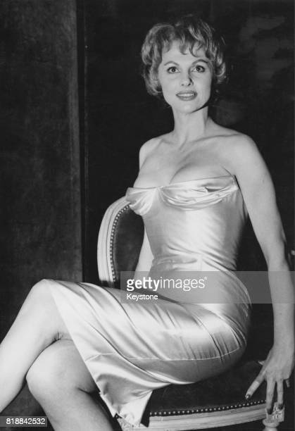 French actress Madeleine Lebeau attends a party at Maxim's to celebrate the start of filming on 'Vous n'avez rien à déclarer?', Paris, France, 14th...
