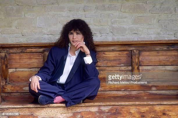 French actress Maria Schneider