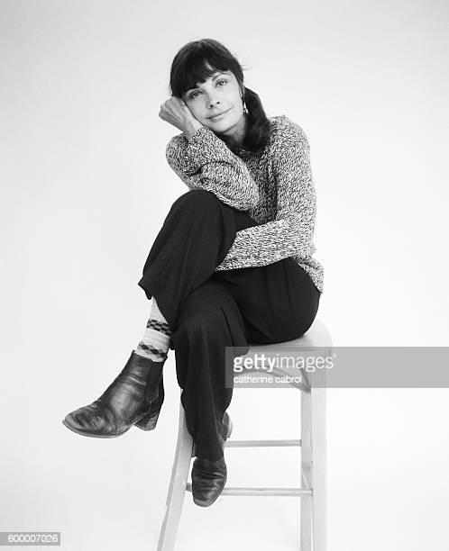 French actress Marie Trintignant for the photographic series Personne Personnage