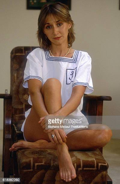 French Actress Marie-Anne Chazel