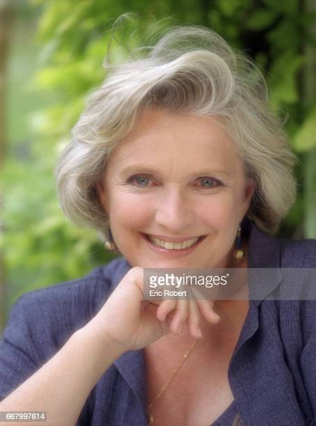 French actress MarieChristine Barrault visits the village of Grignan in the Drome region of France She is attending the Festival de la Correspondance...