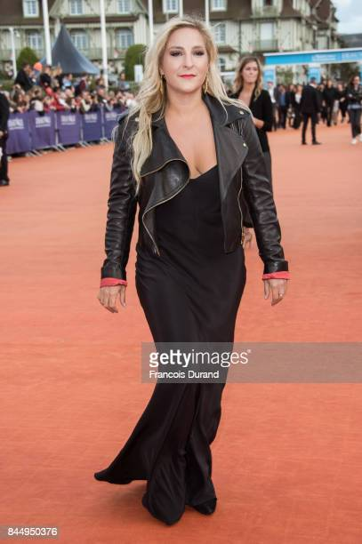 French actress Marilou Berry arrives at the screening for 'mother' during the 43rd Deauville American Film Festival on September 8 2017 in Deauville...