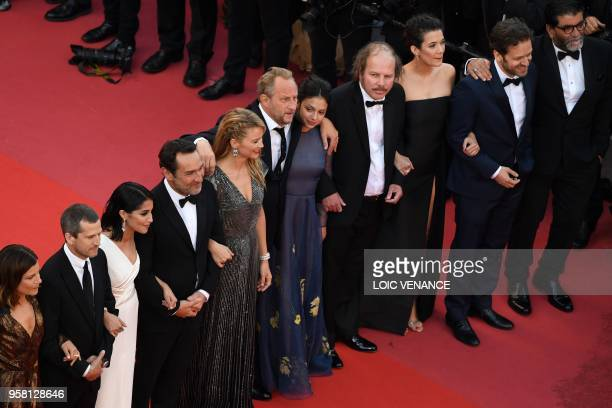 French actress Marina Fois French actor Guillaume Canet French actress Leila Bekhti French director Gilles Lellouche Belgian actress Virginie Efira...