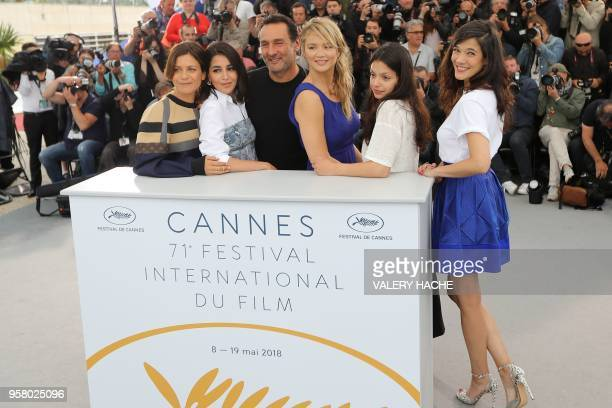 French actress Marina Fois French actress Leila Bekhti French director Gilles Lellouche Belgian actress Virginie Efira French actress Noee Abita and...