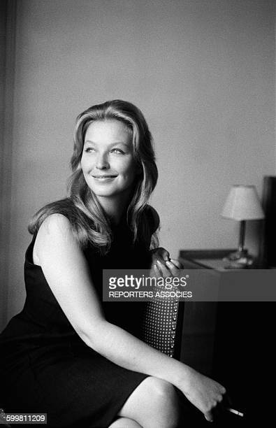 French Actress Marina Vlady at the Cannes Film Festival in Cannes France on May 12 1962