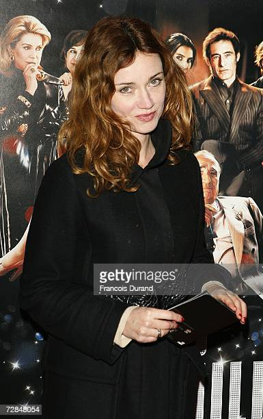 French actress Marine Delterme attends the premiere of 'Le Heros de la Famille' at the UGC Normandie on December 18 2006 in Paris France