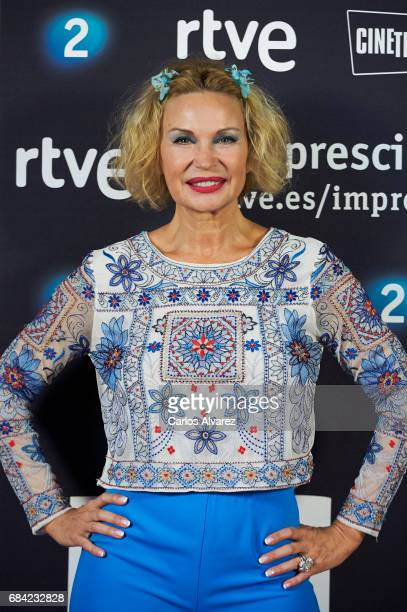 French actress Marlene Mourreau attends the 'Imprescindibles' premiere at the Cineteca cinema on May 17 2017 in Madrid Spain