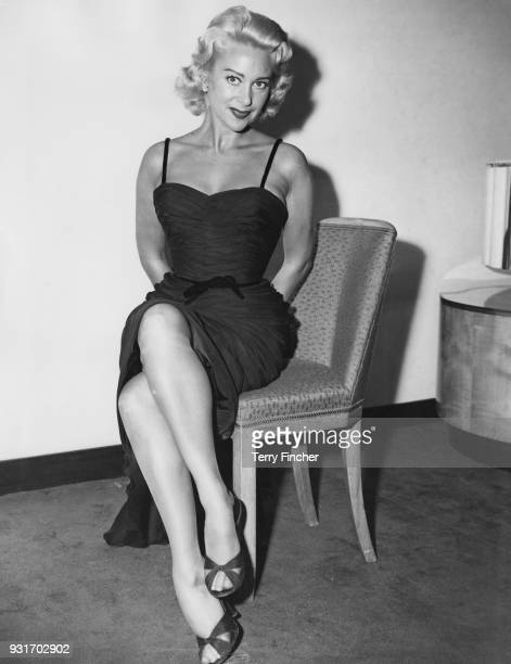 French actress Martine Carol during a reception at the Savoy Hotel in London 26th September 1956 She is in the UK to star in the film 'Action of the...
